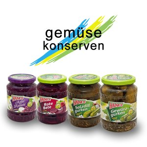 Gastronomy canned vegetables