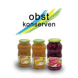 Gastronomy canned fruits